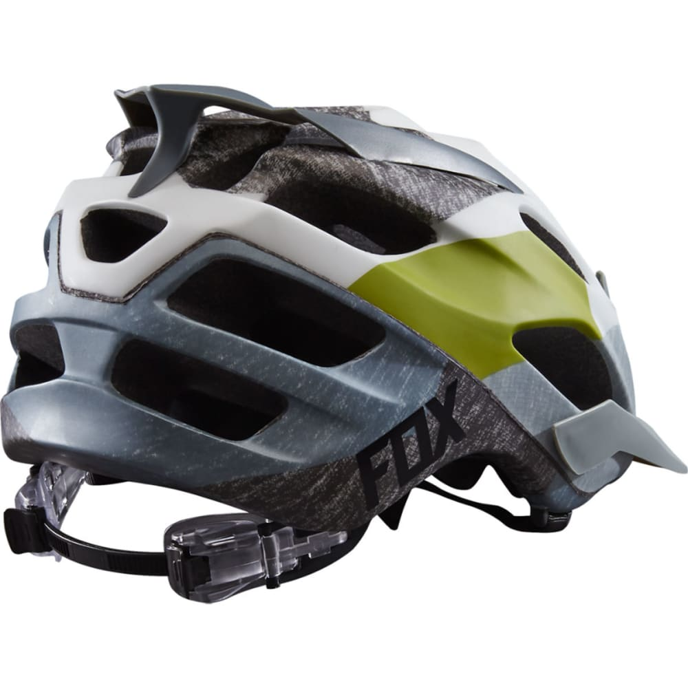FOX RACING Flux Dresden Bike Helmet - GREY