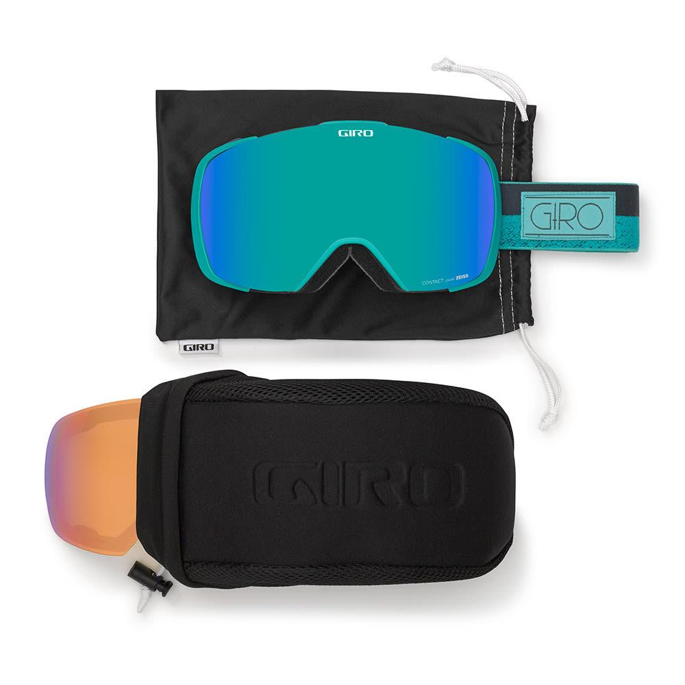 GIRO Women's Contact Goggles - TURQUOISE