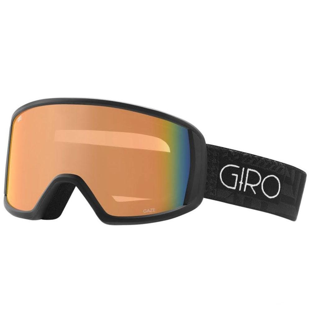 GIRO Women's Gaze Goggles with Persimmon Blaze Lens - BLACK