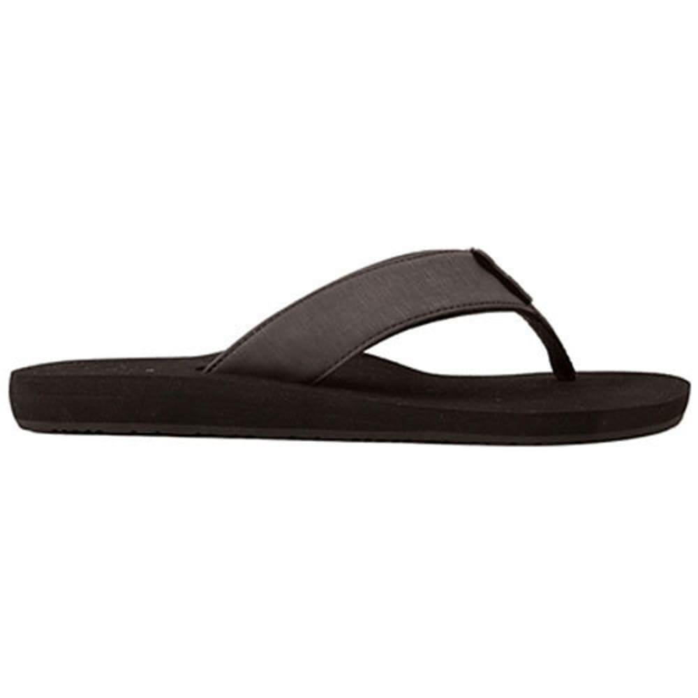 COBIAN Men's Floater Sandals - BLACK