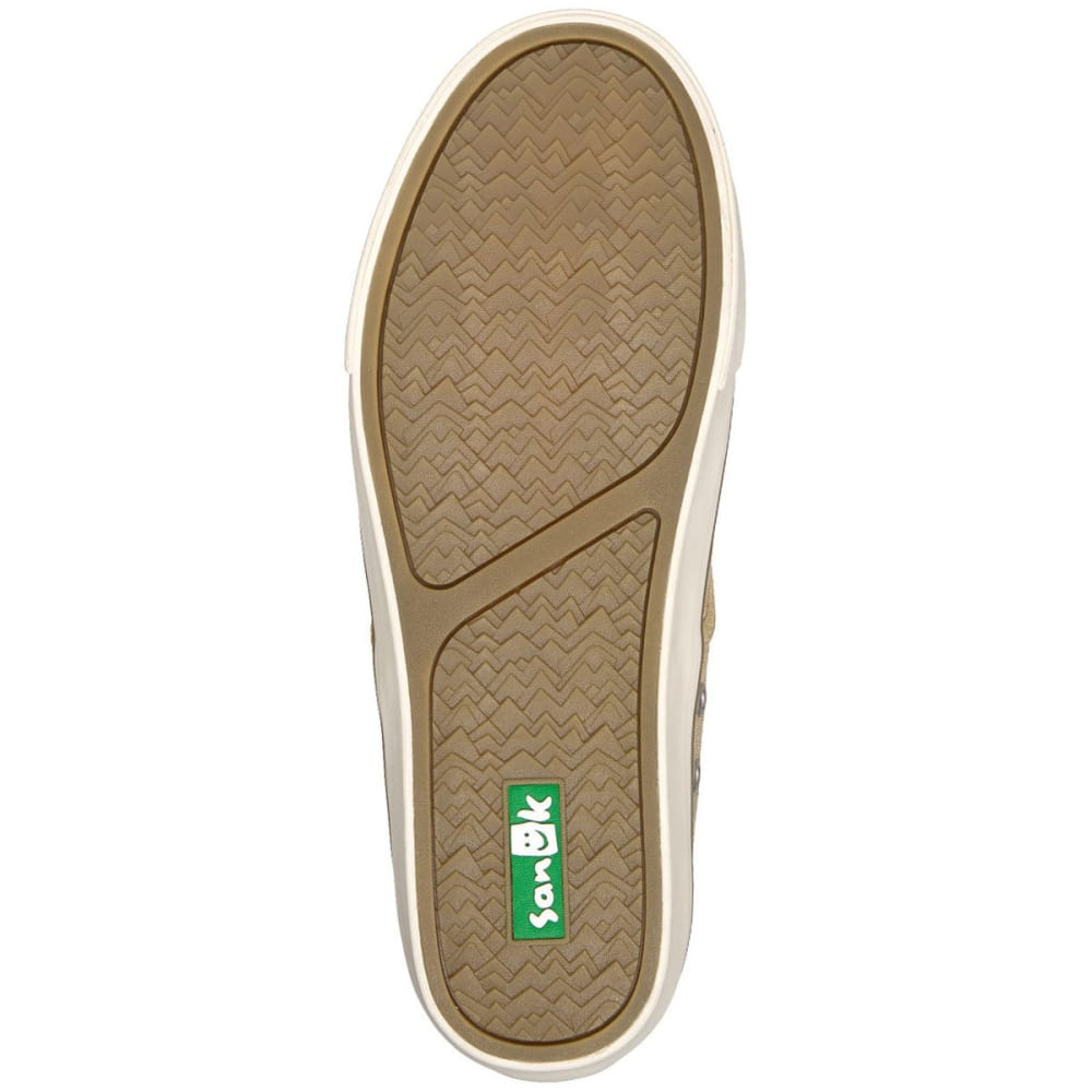 SANUK Men's Guide Plus Shoes, Washed Natural - NATURAL