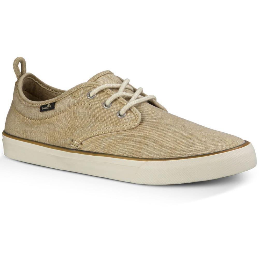 SANUK Men's Guide Plus Shoes, Washed Natural 8