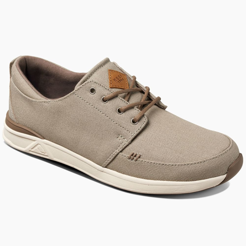 REEF Men's Rover Low Sneakers, Sand/Natural - Eastern Mountain Sports