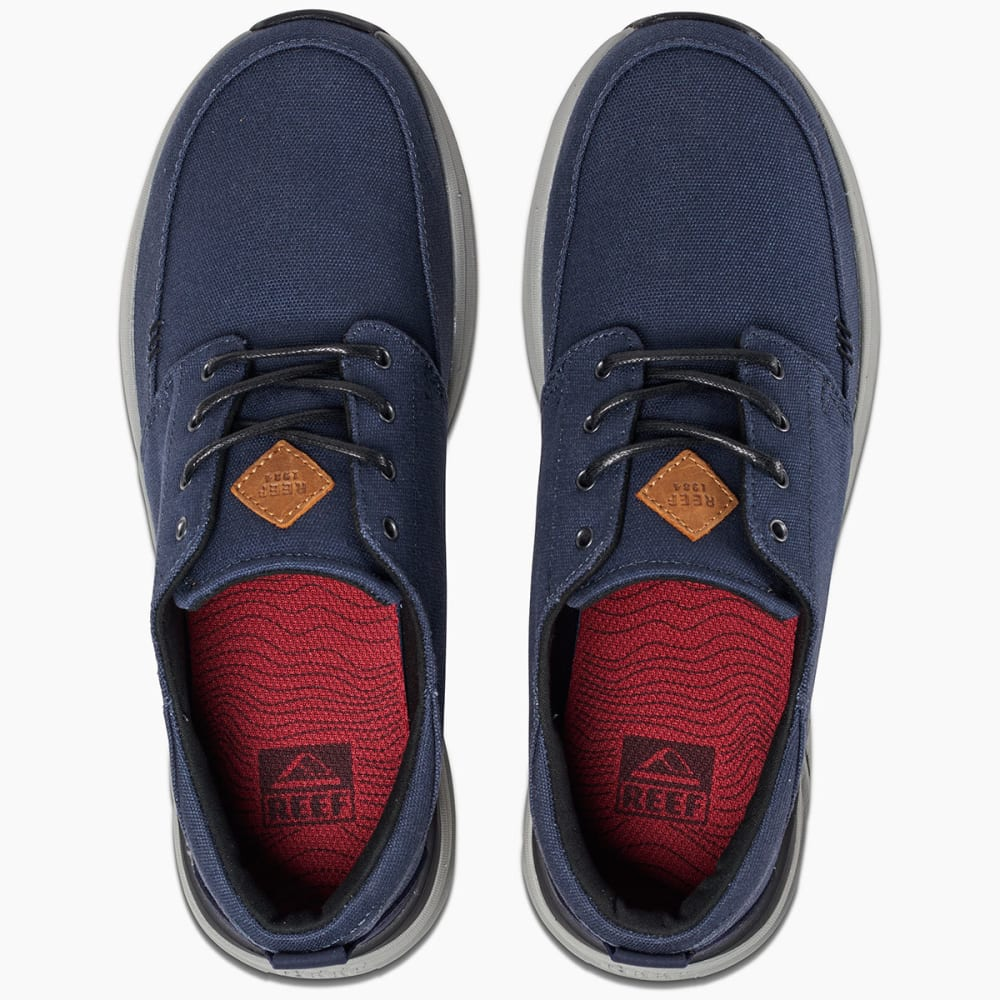 REEF Men's Rover Low Sneakers, Navy - NAVY/GREY