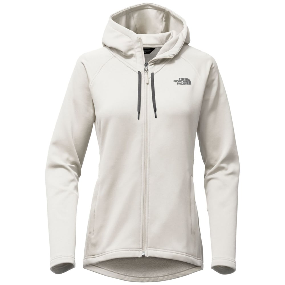 THE NORTH FACE Women's Momentum Hoodie - 128-MOONLIGHT IVORY