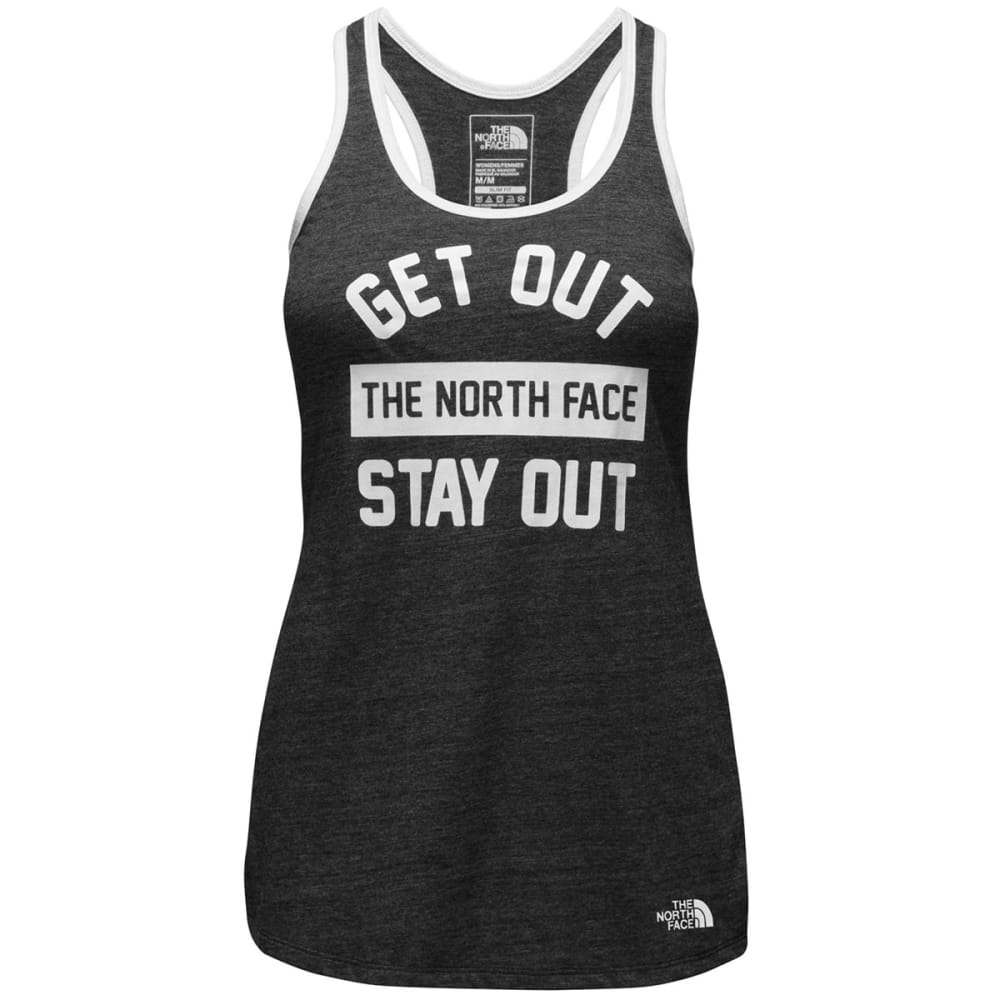 THE NORTH FACE MA Women's Graphic Play Hard Tank Top - JK3-TNF BLACK