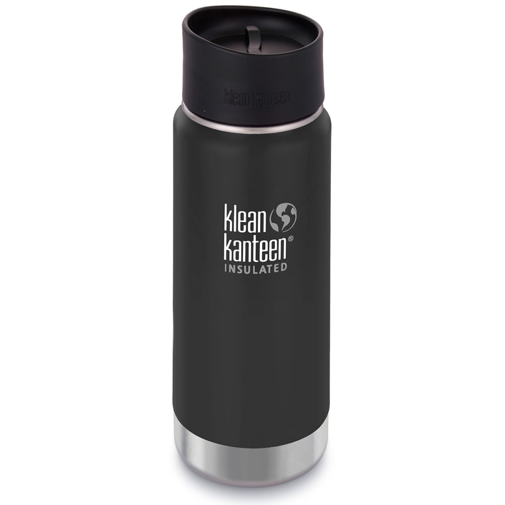 KLEAN KANTEEN Wide Insulated Cafe Cap, 16 oz. - SHALE BLACK/609602