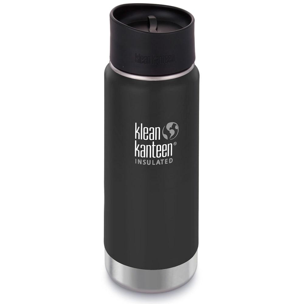 KLEAN KANTEEN Wide Insulated Cafe Cap, 16 oz. - SHALE BLACK/609602