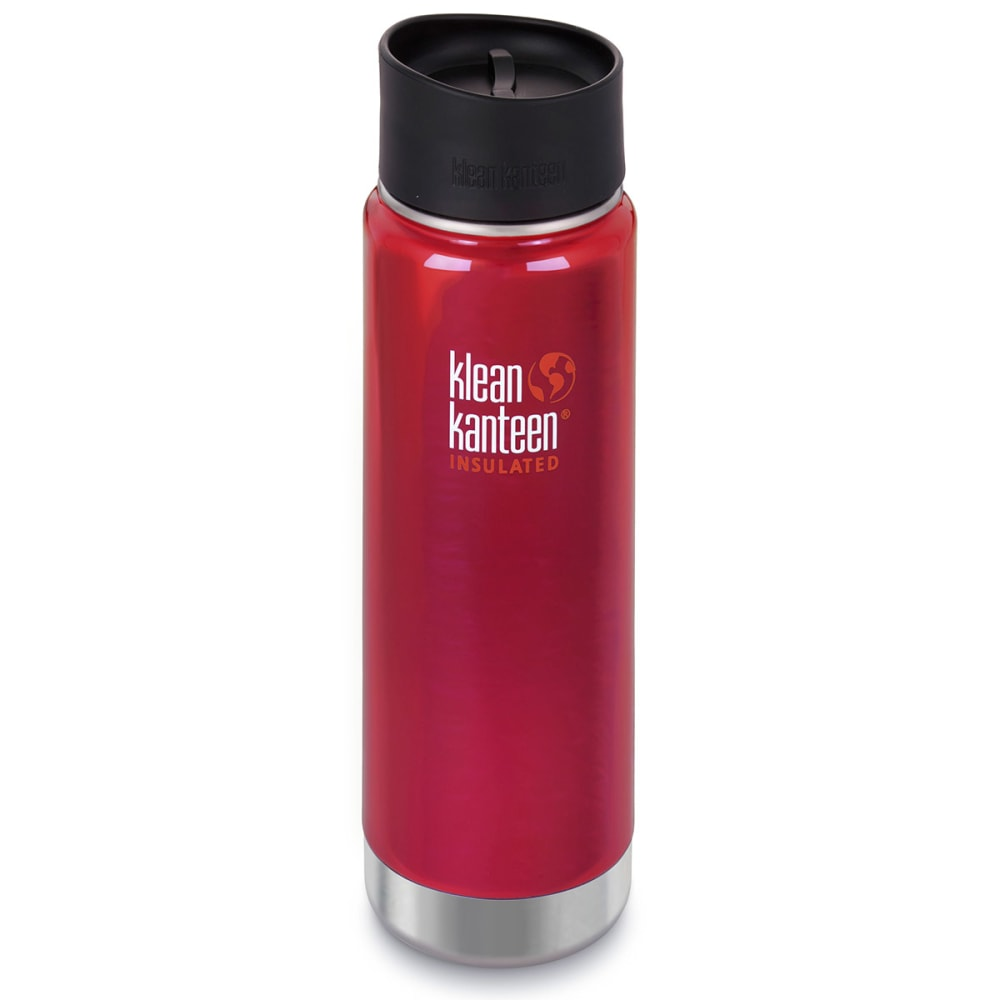 KLEAN KANTEEN Wide Insulated Cafe Cap, 20 oz. - PEPPER RED/609643