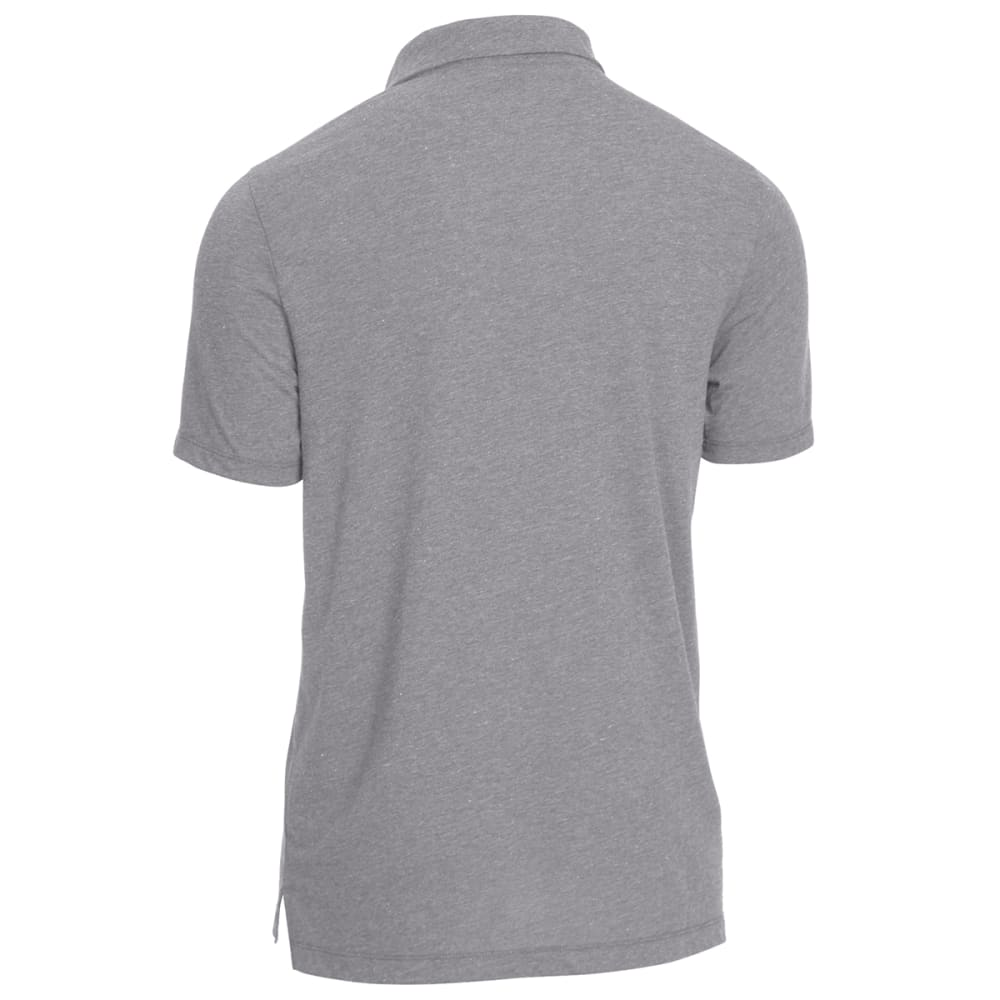 EMS® Men's Techwick® Vital Polo - NEUTRAL GREY HTR