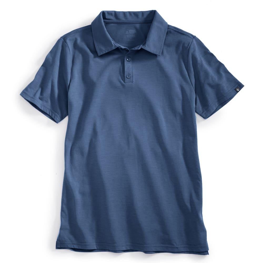 EMS Men's Techwick Vital Polo - ENSIGN BLUE