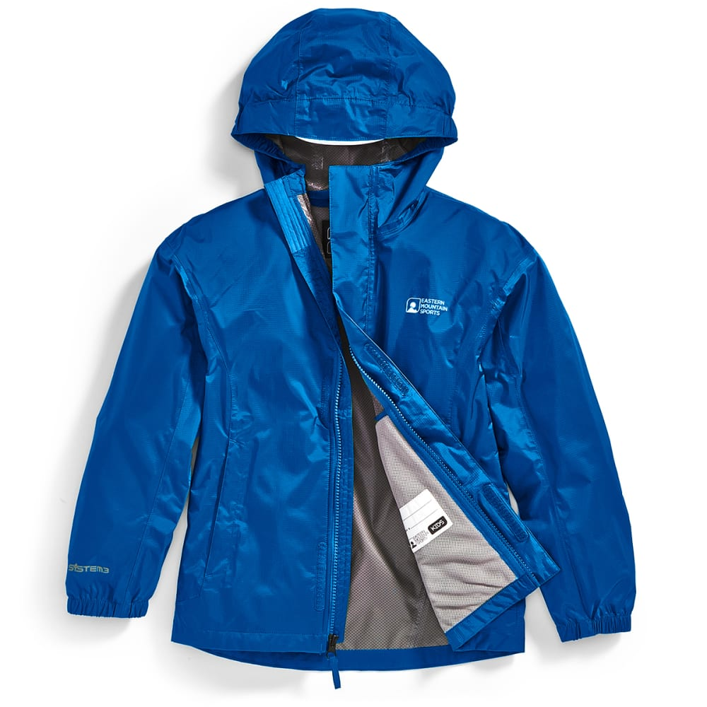 EMS Kids' Thunderhead Rain Jacket - LAPIS BLUE