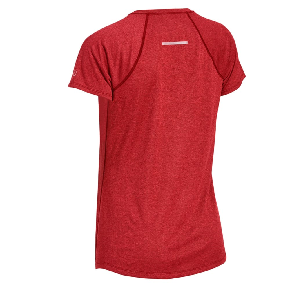 EMS Women's Techwick Essence Crew Short-Sleeve Shirt - HIGH RISK RED HTR