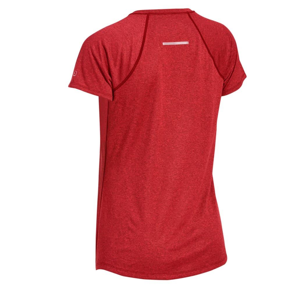 EMS® Women's Techwick® Essence Crew Short-Sleeve Shirt - HIGH RISK RED HTR
