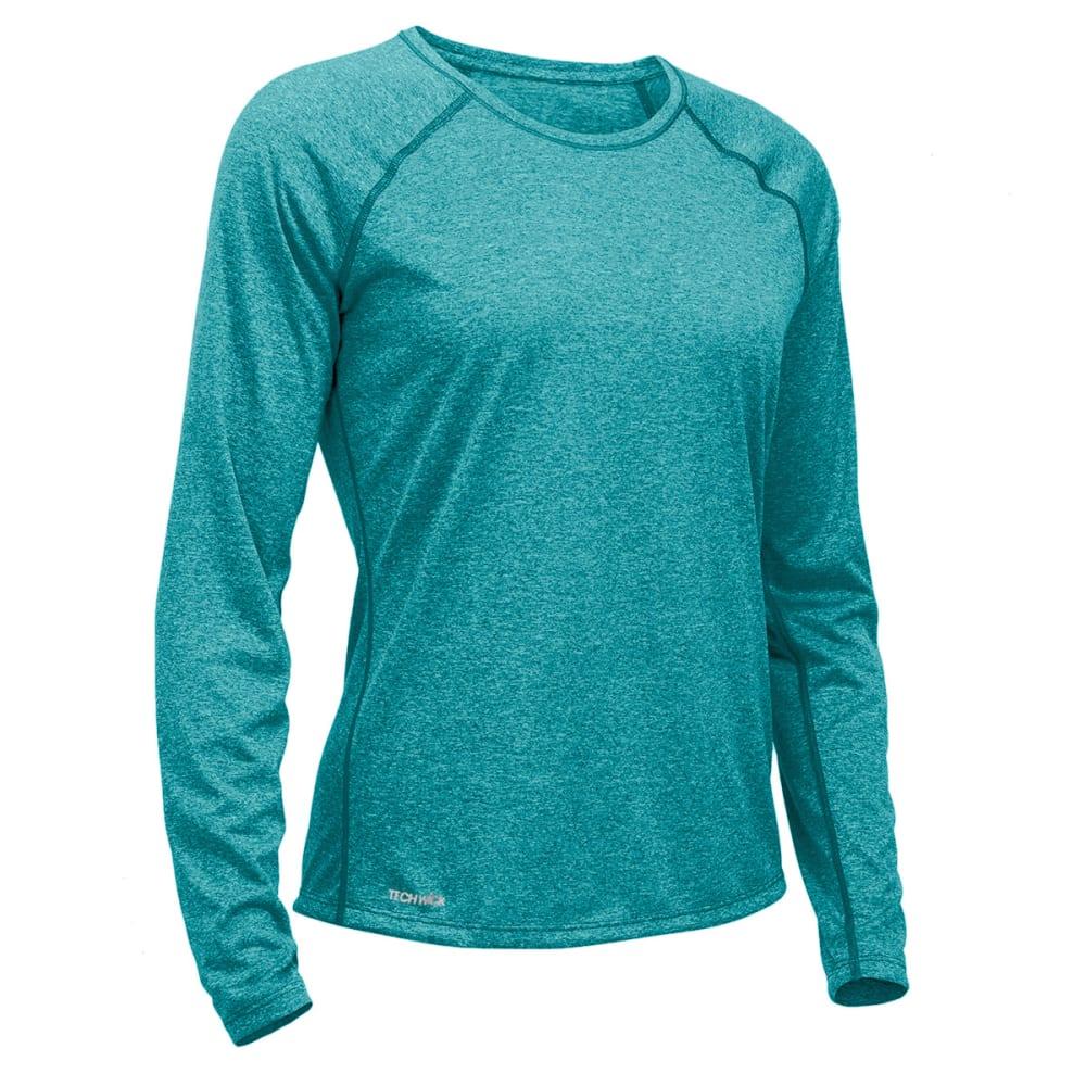 Ems Womens Techwick Essence Crew Long-Sleeve Shirt - Purple - Size M S17W0027