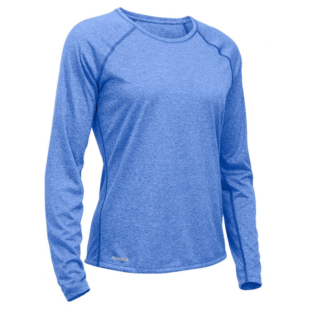 Ems Womens Techwick Essence Crew Long-Sleeve Shirt - Black - Size XL S17W0027