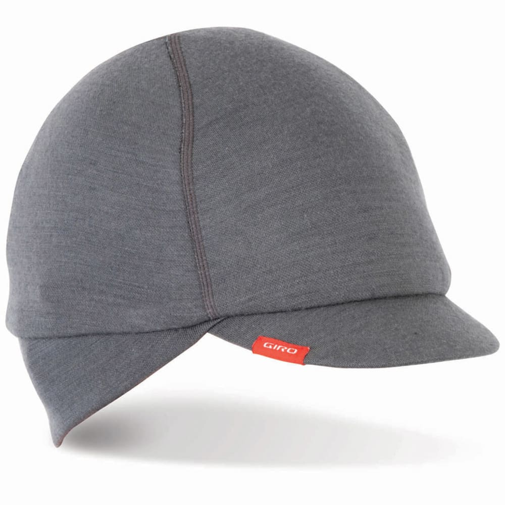 GIRO Under-Helmet Merino Wool Cycling Cap - CHARCOAL