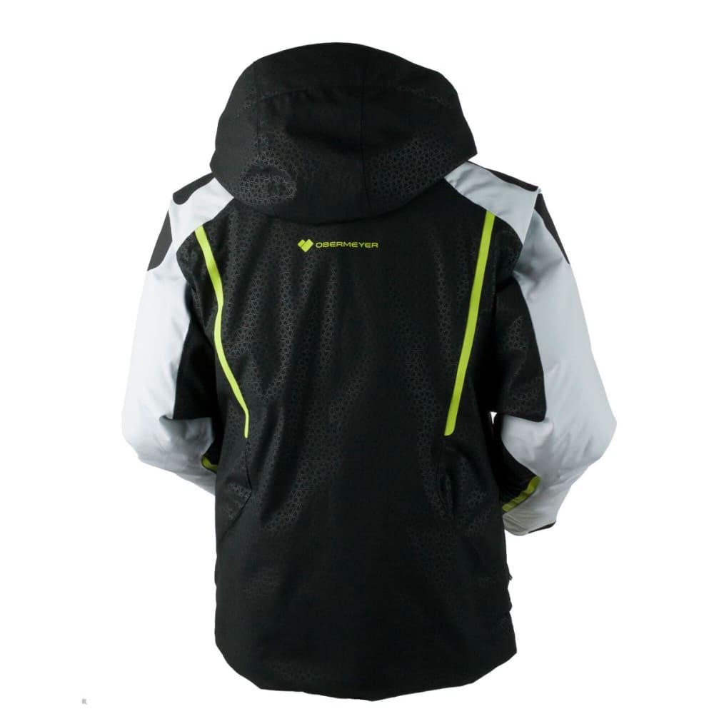 OBERMEYER Men's Charger Jacket - BLACK DEBOSS