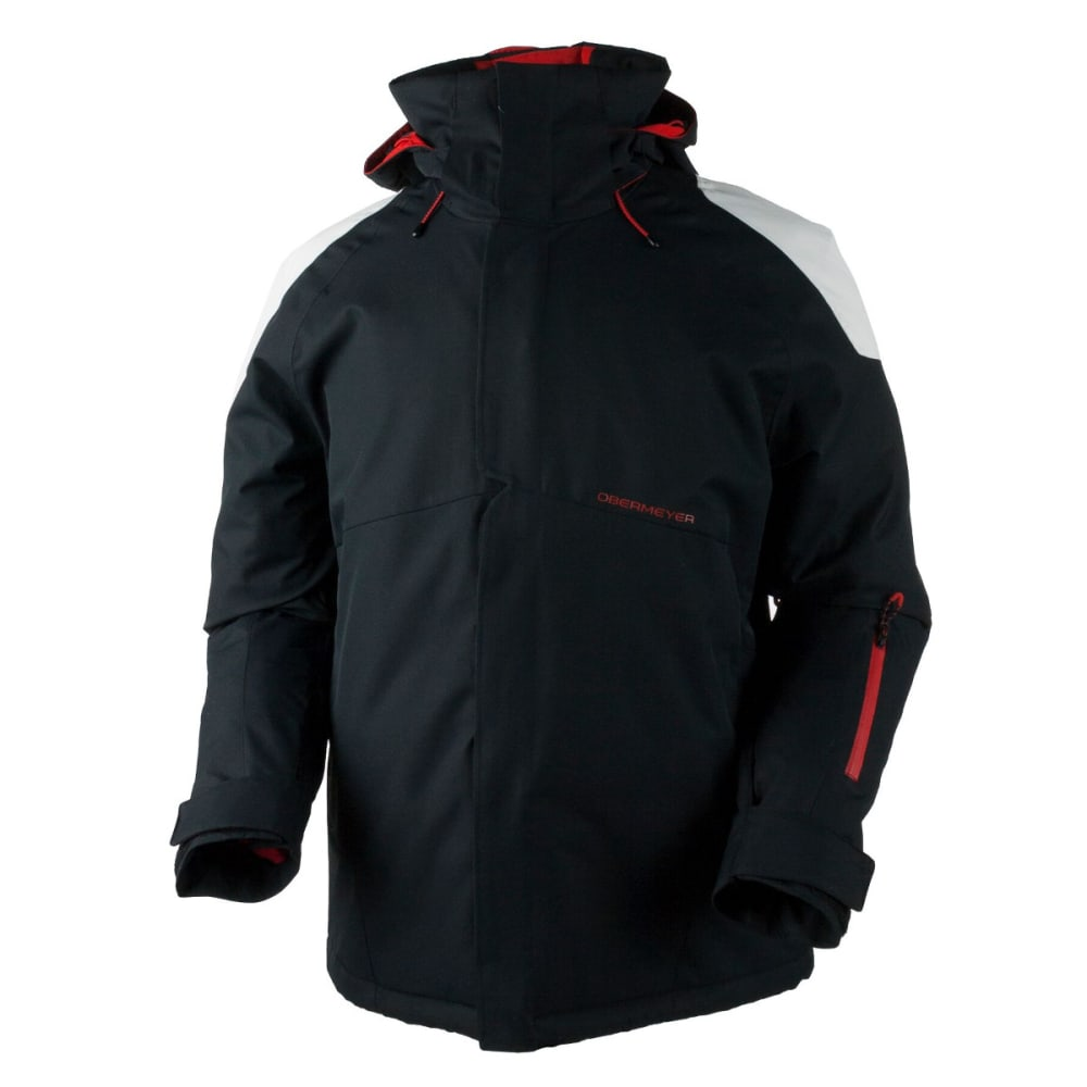 OBERMEYER Men's Foundation Jacket - BLACK