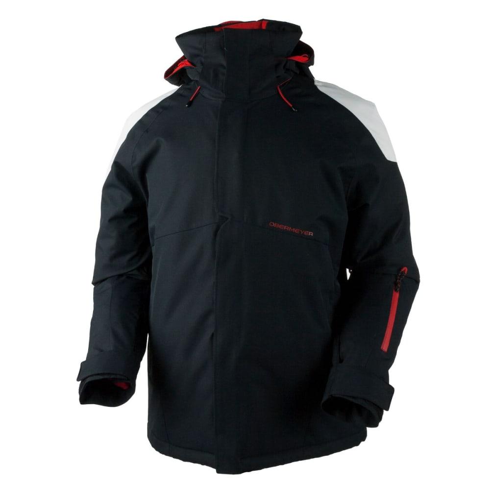OBERMEYER Men's Foundation Jacket - BLACK