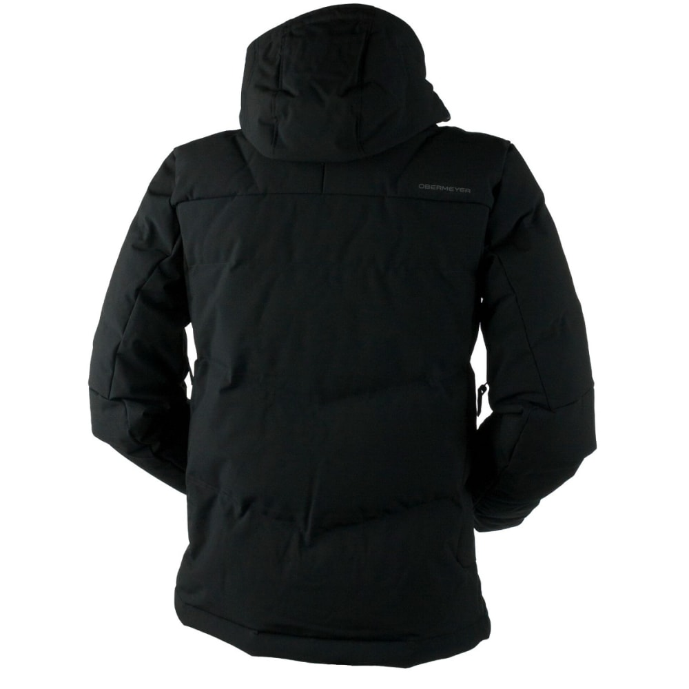 OBERMEYER Men's Gamma Down Jacket - BLACK