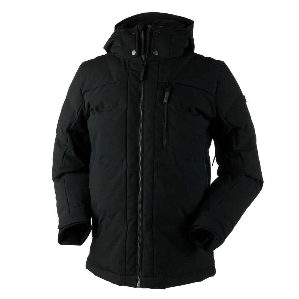 OBERMEYER Men's Gamma Down Jacket - BLACK