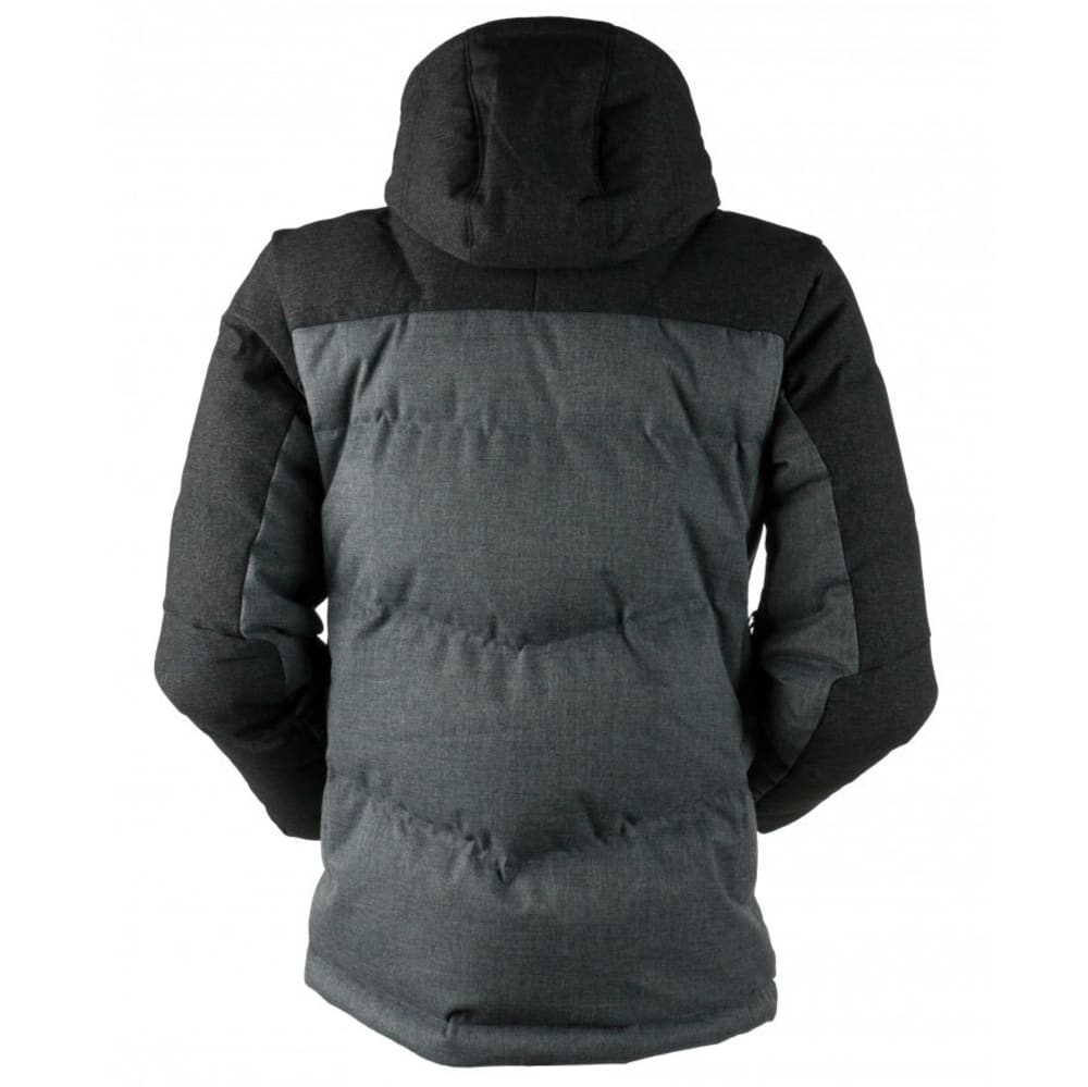 OBERMEYER Men's Gamma Down Jacket - CHARCOAL