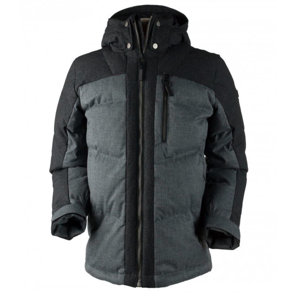 OBERMEYER Men's Gamma Down Jacket - CHARCOAL