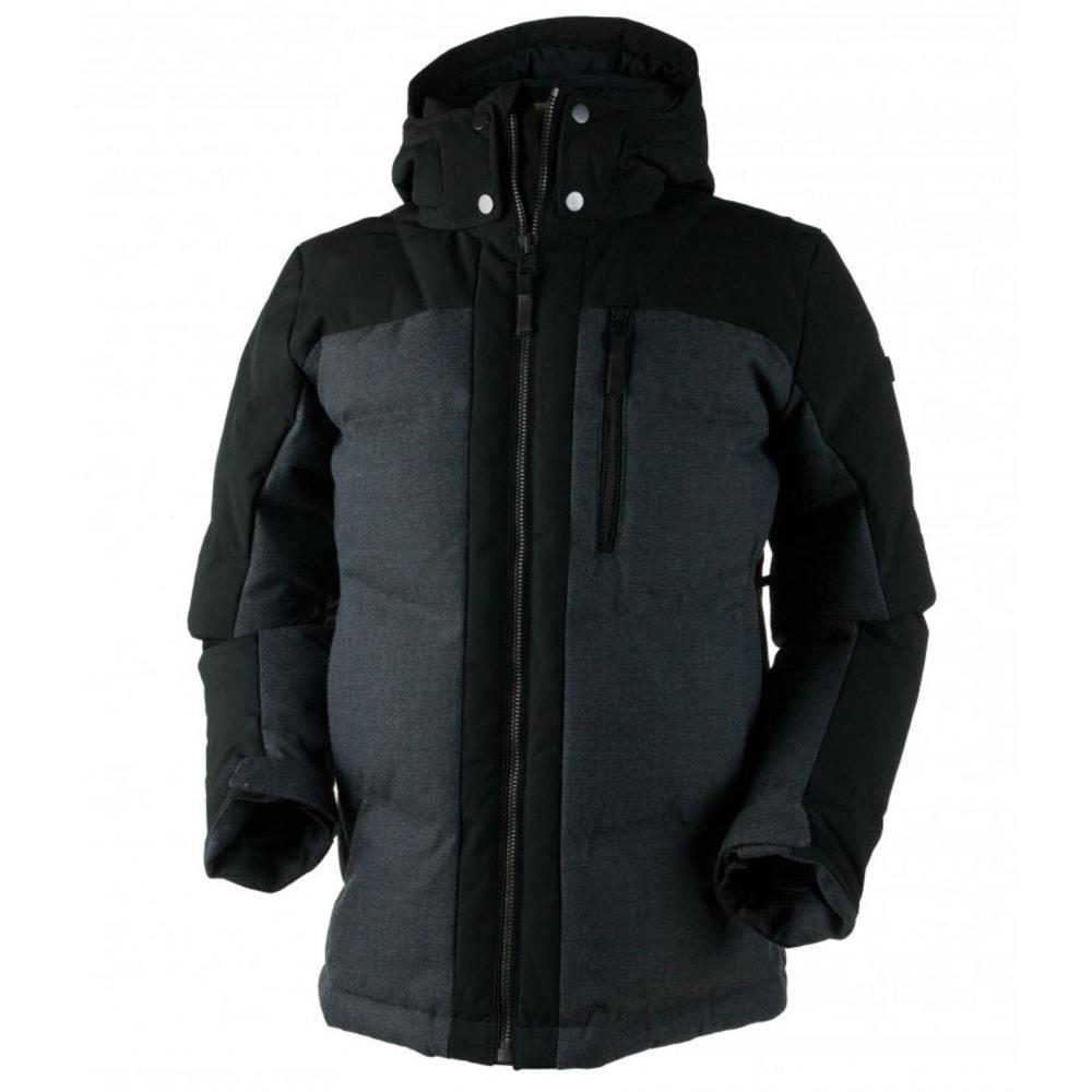 OBERMEYER Men's Gamma Down Jacket - HERRINGBONE