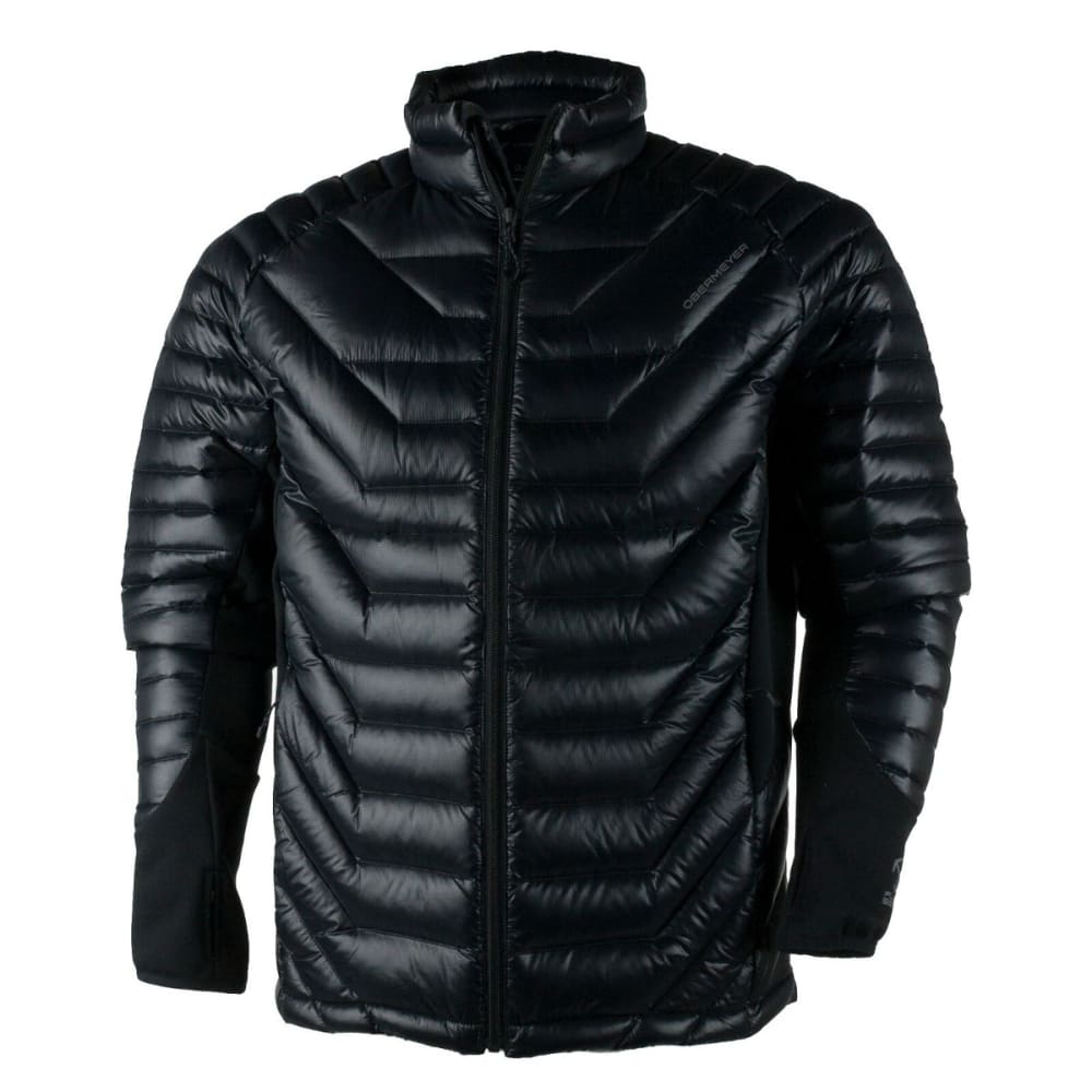 OBERMEYER Men's Kinetic Down Hybrid Jacket - BLACK