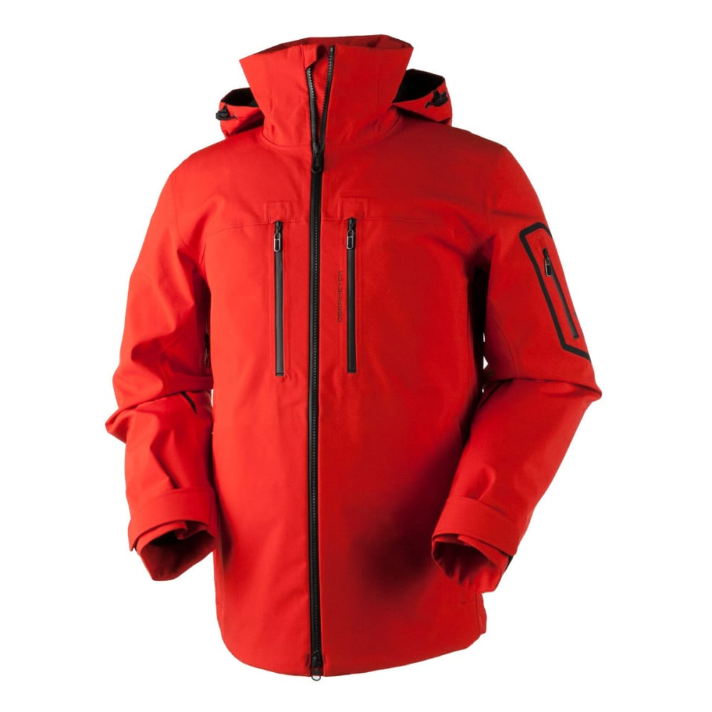 OBERMEYER Men's Supernova Shell Jacket - RED