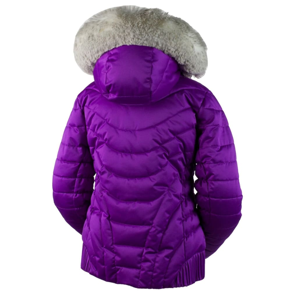 OBERMEYER Girls' Aisha Jacket - VIOLET VIBE