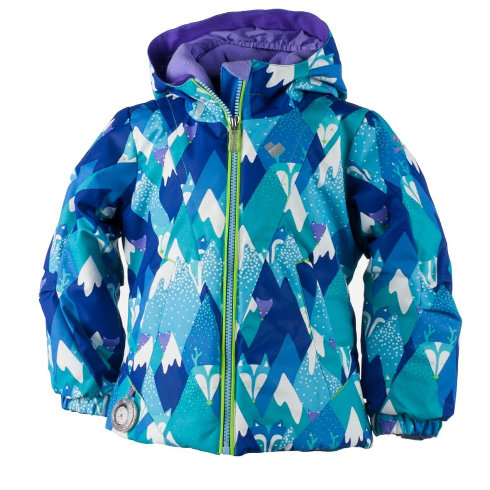 OBERMEYER Girls' Ashlyn Jacket - BLUE MOUNTAINS