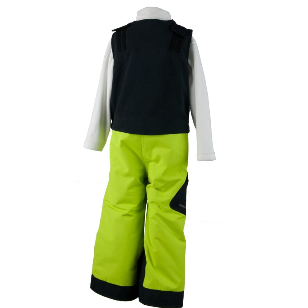 OBERMEYER Boys' Chilkat Bib - SCREAMIN' GREEN