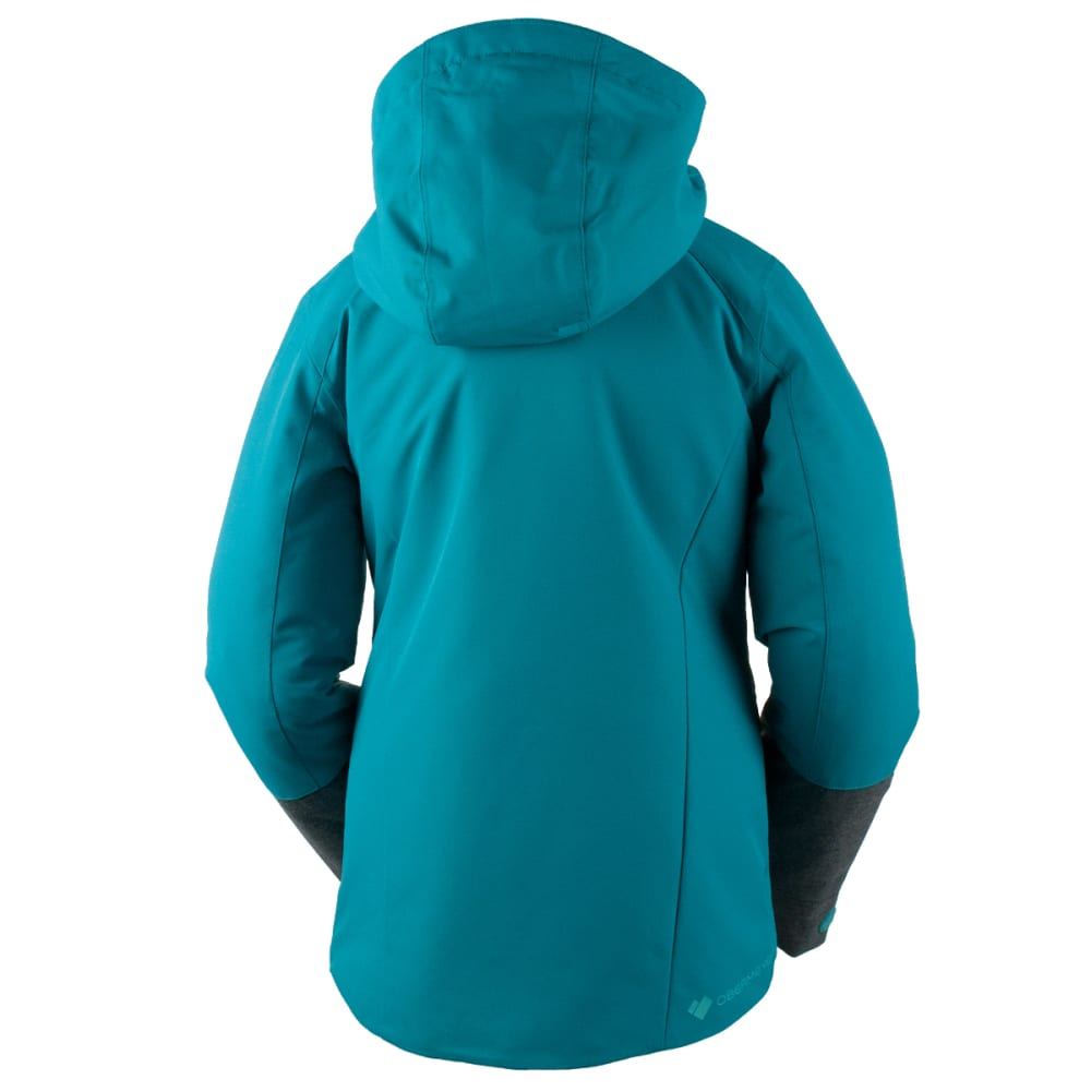 OBERMEYER Girls' Kenzie Jacket - MERMAID