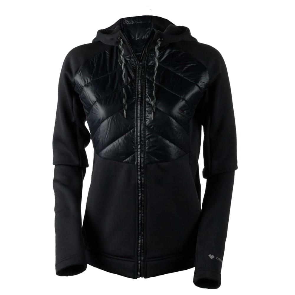 OBERMEYER Women's Kit Hybrid Insulator Jacket - BLACK