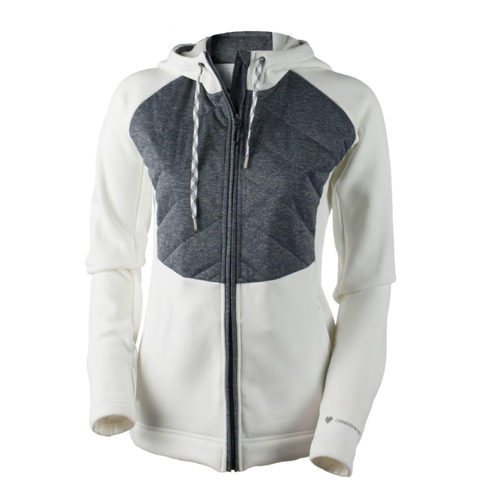 OBERMEYER Women's Kit Hybrid Insulator Jacket - WHITE