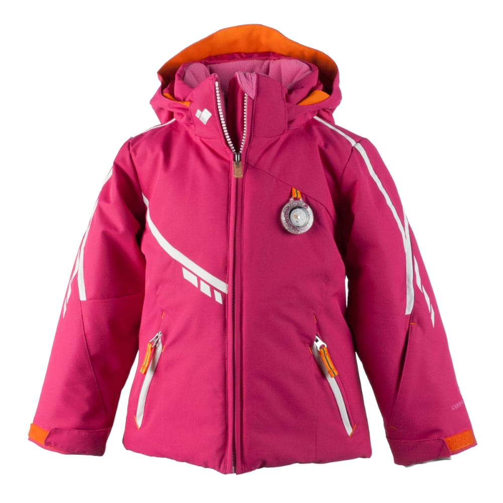 OBERMEYER Girls' Leyla Jacket - GLAMOUR PINK