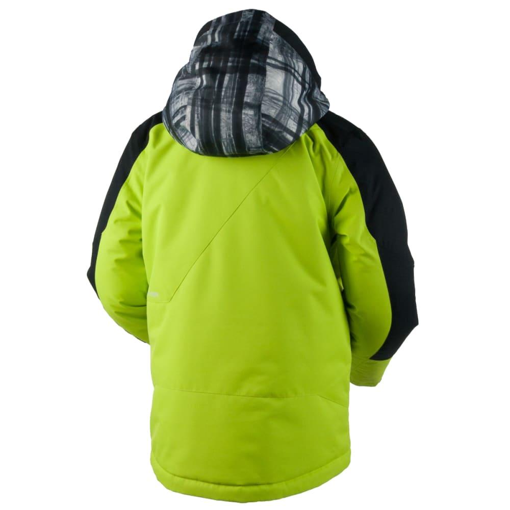 OBERMEYER Boys' Outland Jacket - SCREAMIN' GREEN