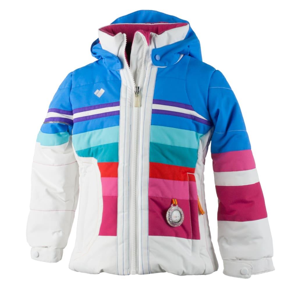 OBERMEYER Girls' Snowdrop Jacket - WHITE