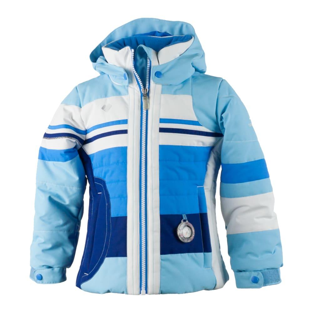 OBERMEYER Girls' Snowdrop Jacket - BLEU SKY