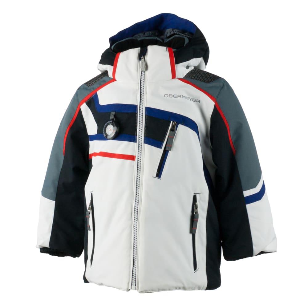 OBERMEYER Boys' Tomcat Jacket - WHITE