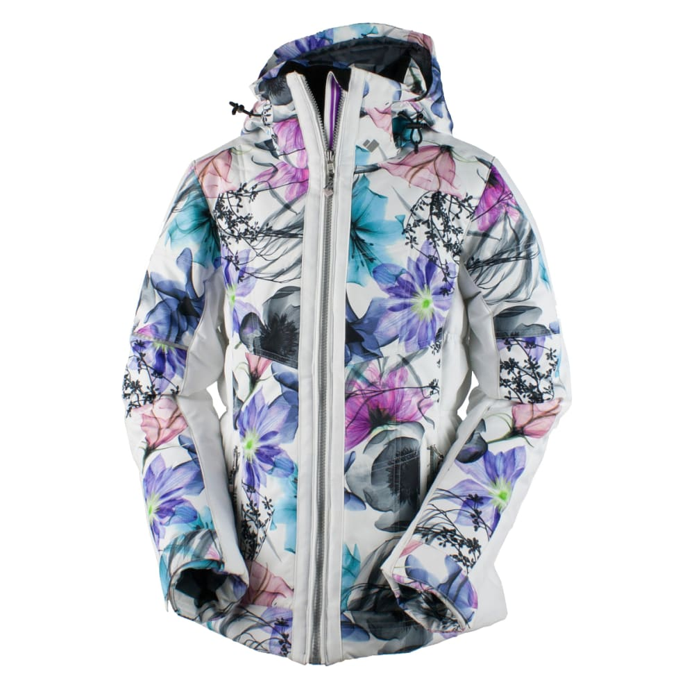 OBERMEYER Women's Valerie Jacket - X-RAY FLORAL