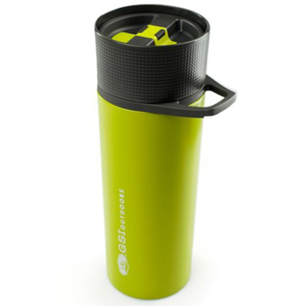 GSI Glacier Stainless Commuter Javapress Mug - GREEN/67323
