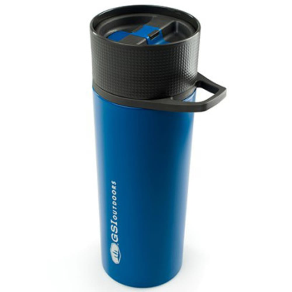 GSI Glacier Stainless Commuter Javapress Mug - BLUE/67322