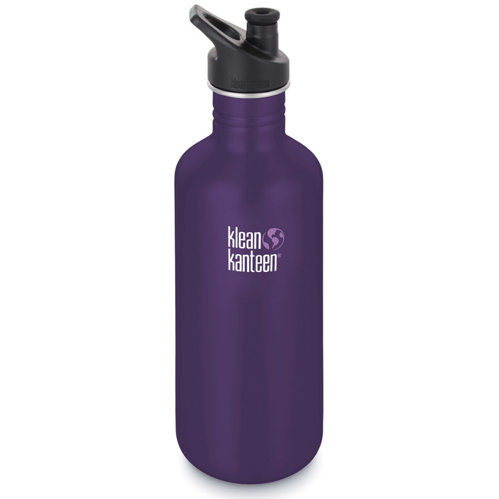 KLEAN KANTEEN Sport Cap Bottle, 40 oz. - BERRY SYRUP