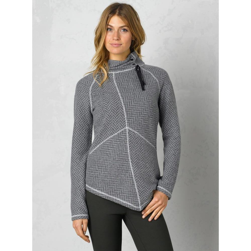 PRANA Women's Mattea Sweater - BLACK