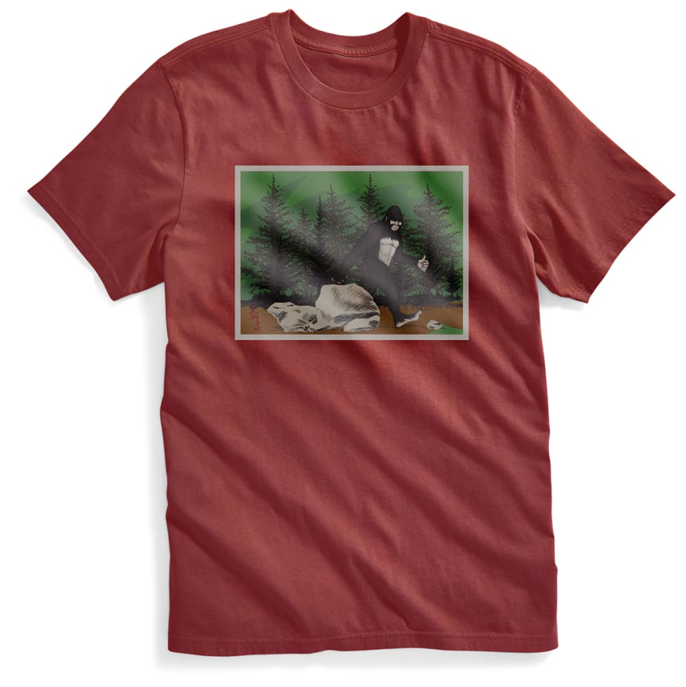 EMS® Men's Bigfoot Approved Graphic Tee - FIRED BRICK