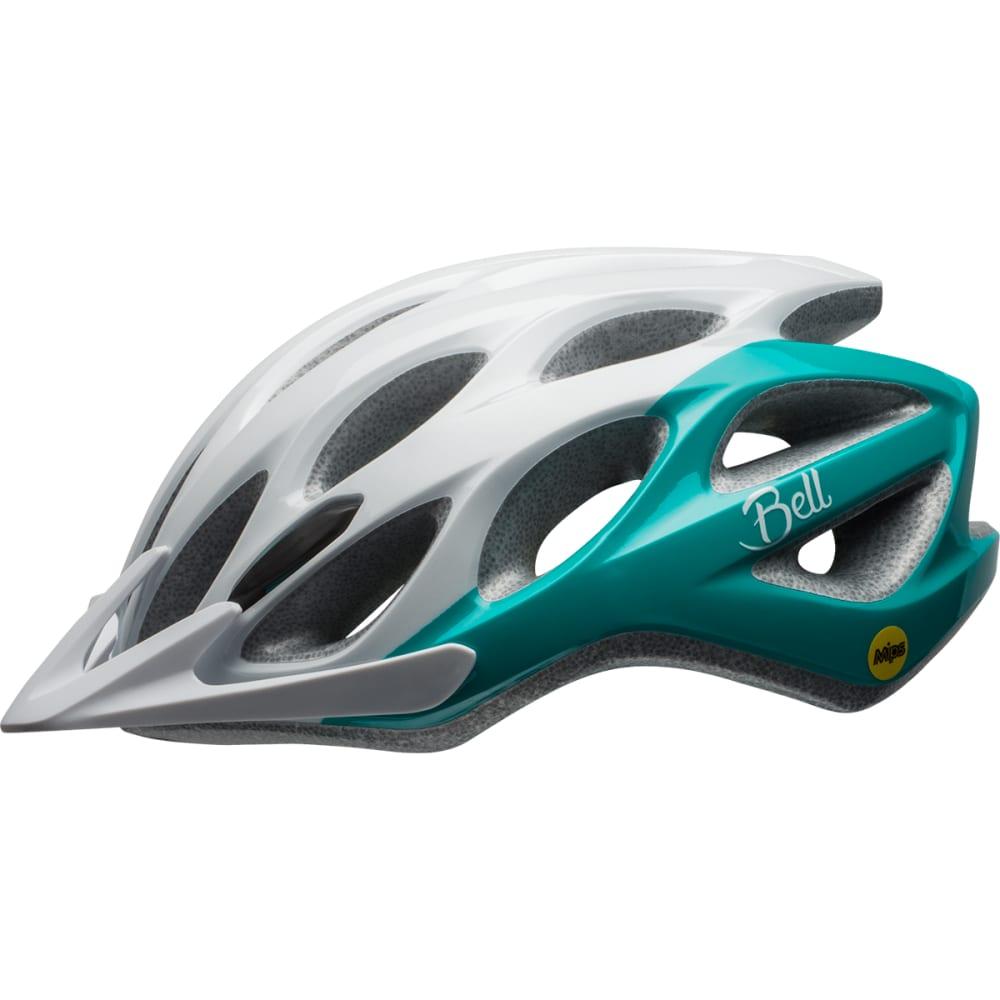 BELL Women's Coast Joy Ride MIPS Cycling Helmet - WHITE/EMERALD