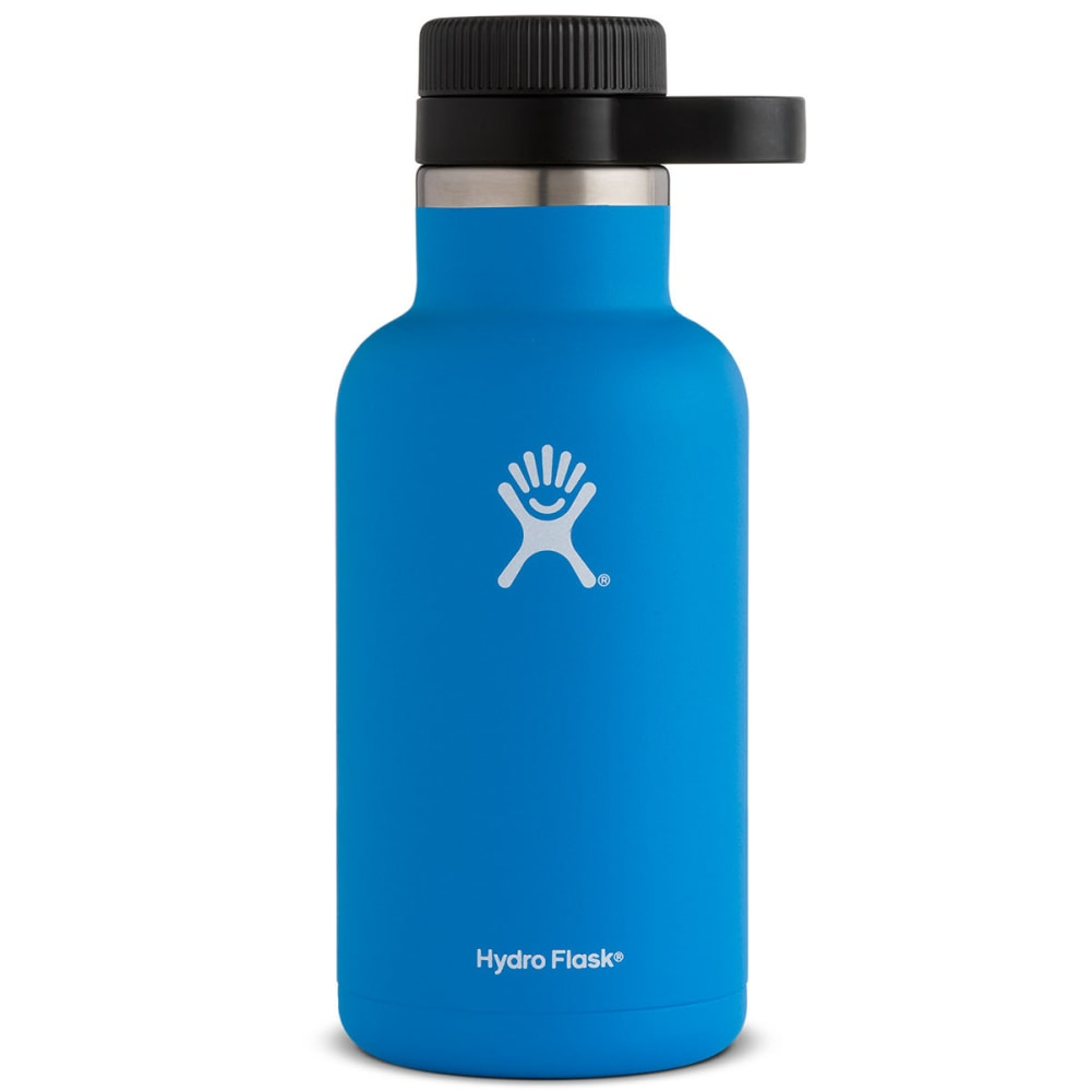 HYDRO FLASK 64 OZ Wide Mouth Growler, Pacific - PACIFIC BLUE